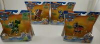 (Lot Of 4) Paw Patrol Mighty Pups Super Paws ~ Zuma, Rocky, Marshall & Chase!!
