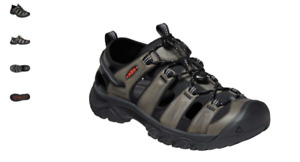 Keen Targhee III Sandal Grey/Black Close Toed Sandal Men's US sizes 8-14/NEW!!!