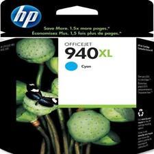 Genuine HP Officejet 940XL High Yield Ink 8000 8500 Hewlett Packard Cyan Blue