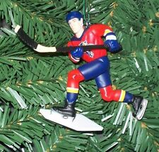 Scott Mellanby FLORIDA PANTHERS Christmas tree ornament NHL hockey figure