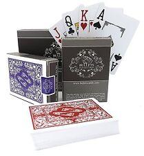 2x wasserfeste Plastik Pokerkarten von Bullets Playing Cards - Spielkarten