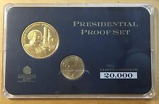 George Washington Gold Plated Medal and US Dollar Set (BOX1)