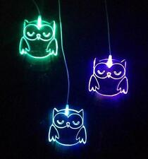 Owl Drop Night Light - Mobile Lamp with Colour Changing LED Lights
