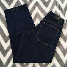 Levis Silvertab Mens 32x32 Dark Denim Blue Jeans Loose Baggy Sample Garment vtg