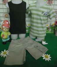 vêtements occasion garçon 5 ans,debardeur,bermuda QUECHUA,t-shirt SERGENT MAJOR