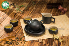 Black Zen Ceramic Chinese Kungfu Tea Set Teapot Fair Cup Cusion Four Teacups