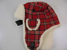 Brooks Brothers Signature Tartan & Shearling Trapper MED Hat MSRP$228 NWT