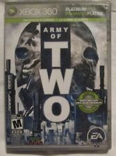 Xbox 360 Army of Two (Manual, box and game)