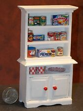 Dollhouse Miniature Kitchen Cabinet food dish 1:12 Inch Scale G44 Dollys Gallery