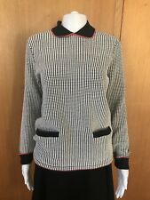 Hobbs-Check Knit Jumper-Size 10