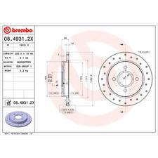 Disco de freno (2 trozo) Brembo Xtra Line-Brembo 08.4931.2x