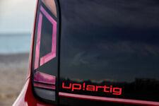 UP!artig Schriftzug Aufkleber für VW Up Sticker GTI Power folie tuning styling