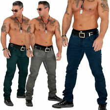 Herren Jeans Hose Chino Clubwear Top Design Y.Two Slim Fit 915