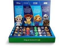 Woolworths Disney+ Ooshies Collectables Collection Toy Pixar Marvel RARE