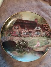 "Franklin Mint Heirloom ""A Cozy Glen"" by Violet Schwedig, Limited Edition Plate"