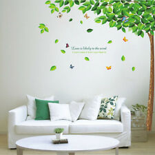 Home Decor Leaves Tree Butterfly Vinyl Removable DIY Room Wall Stickers Decal