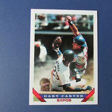 GARY CARTER  1993 Topps # 205 Florida Marlins GOLD  Montreal Expos New York Mets