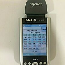 Dell Axim X51 Pda w/Class 1 Socket Scanner Book Scouting Extended Battery Tested