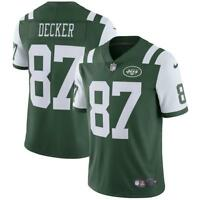 Men's Limited New York Jets Eric Decker #87 NFL Nike Football Green Game Jersey