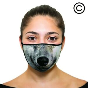 WOLF Cover your face - face mask