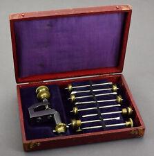 Altes Uhrmacherwerkzeug Senkspiel m Etui f Uhrmacher Uhrwerk Uhr watchmaker tool
