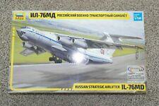 ZVEZDA 1:144 IL-76MD RUSSIAN STRATEGIC AIRLIFTER   7011