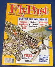 FLYPAST MAGAZINE MAY 1986 - FLYING SEARCHLIGHTS
