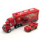 Disney Pixar Cars NO.95 Lightning Mack Truck McQueen 1:55 Diecast Loose Kid Toy