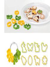 Confezione formette stampi stampo stampini biscotti per forno casa e pasticceria