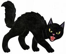 sticker decal car bike bumper halloween spooky kid horror macbook cat witch