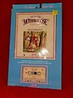 """WORLDS OF WONDER TALKING MOTHER GOOSE BOOK/TAPE """"LITTLE RED RIDING HOOD"""" WOW!"""