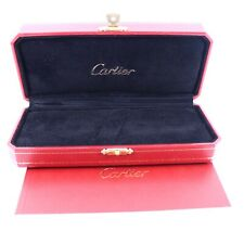 More details for genuine cartier pen box red & certificate