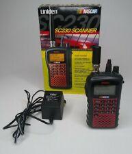 Uniden SC230 Racing Scanner Handheld Nascar 2500 Channels