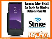 STRIKE ALPHA - SAMSUNG GALAXY NOTE 8 CAR CRADLE OTTERBOX DEFENDER CASE DIY