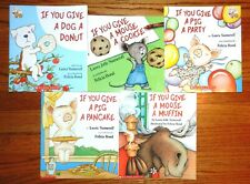 If You Give A Mouse A Cookie Laura Numeroff Set Children Books Muffin Donut NEW