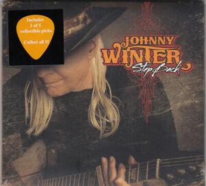 Johnny Winter - Step back CD Digi-pack mit Guitar pick NEU OVP