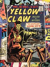 Yellow Claw #3 G+ 2.5 everett cover KIRBY ART atlas publishing 10c GOLDEN AGE
