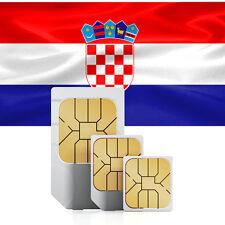 Kroatien Daten SIM + 500 MB für 30 Tage