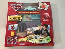 Disney Pixar The World of Cars Playmat Storytellers Collection New Mater!