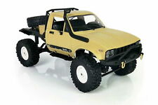 Amewi Pick-Up Truck 4WD 1:16 RTR Sandfarben mit Beleuchtung RC LKW Scale Crawler