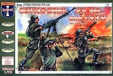 Orion 72038 WWII Soviet DshK AA Machine Gun & Crew Plastic 1/72 scale model kit