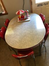 retro dining set