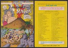 Philippine National Epic Illustrated Comics ALAMAT NG MAYON