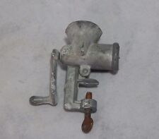 Vintage Metal Meat Grinder Toy PPC Made in USA