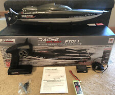 Ft011 65Cm 2.4G Brushless Rc Boat High Speed Racing Boat *Read Description*