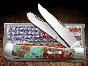 Case xx Trapper Knife Patina Corelon 6073PTA Stainless Pocket Knives