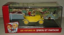 les voitures de spirou et fantasio citroën 5 hp spirou et les heritiers BD game