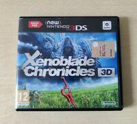 XENOBLADE CHRONICLES 3D SOLO NINTENDO NEW 3DS 2DS  ITALIANO   COMPLETO
