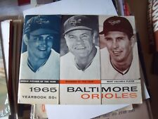 1965 Baltimore Orioles Yearbook