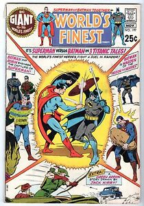 World's Finest #197 with Superman & Batman, Fine Condition*